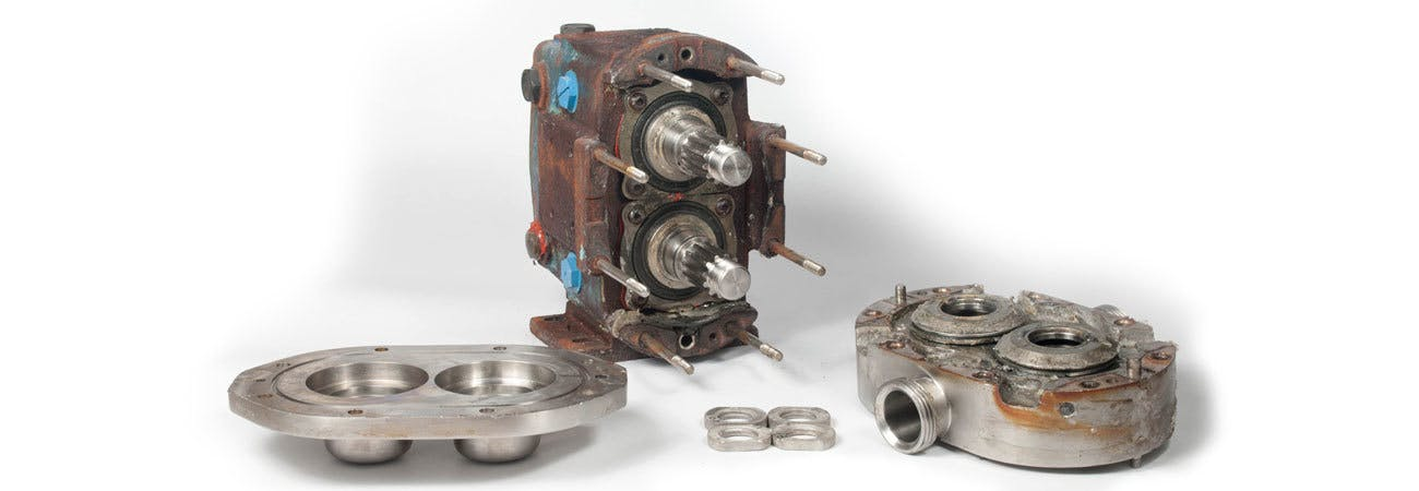 Lead In Photo Pump Repair