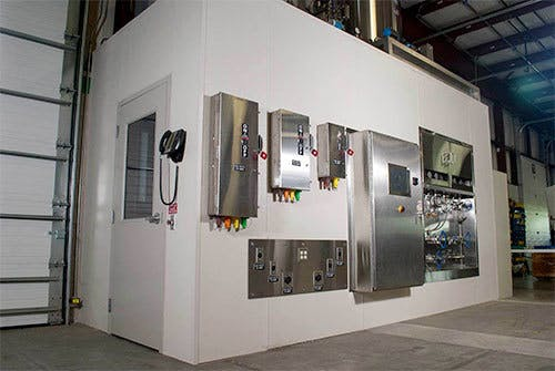 Factory Acceptance Testing Room
