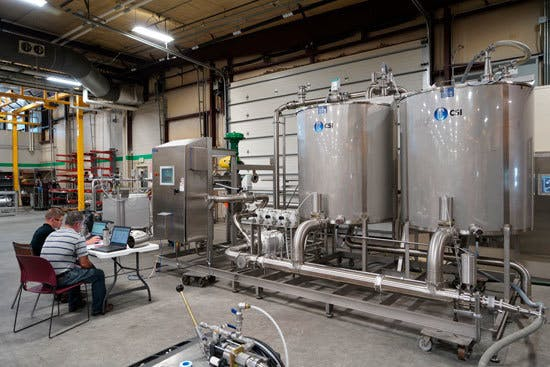 Factory Acceptance Testing Skid