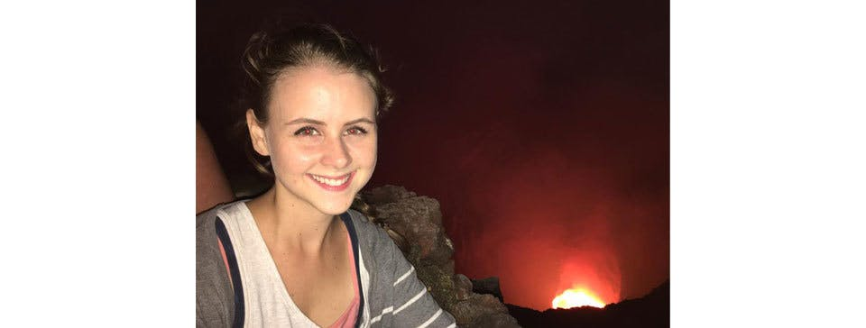 Rachael Nicaragua Volcano
