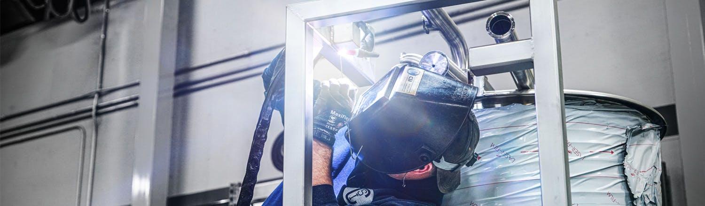 Csi welding capabilities header