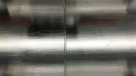 Un-welded AL-6XN (EP) to AL-6XN (EP) Joint