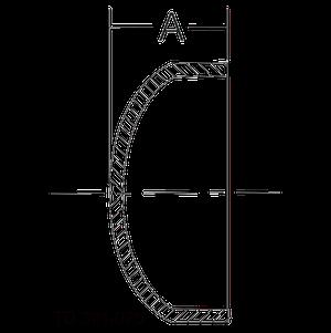 16W Dimensional Drawing