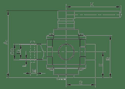Alfa-Laval-Koltek-Valve-Dimensions