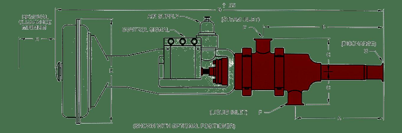 Hydro Heater Dimensions