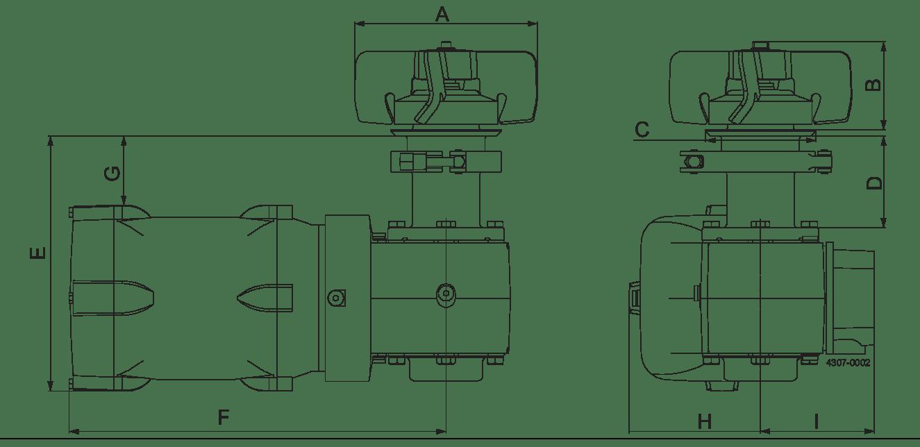 LeviMag WP50 Dimensional Drawing