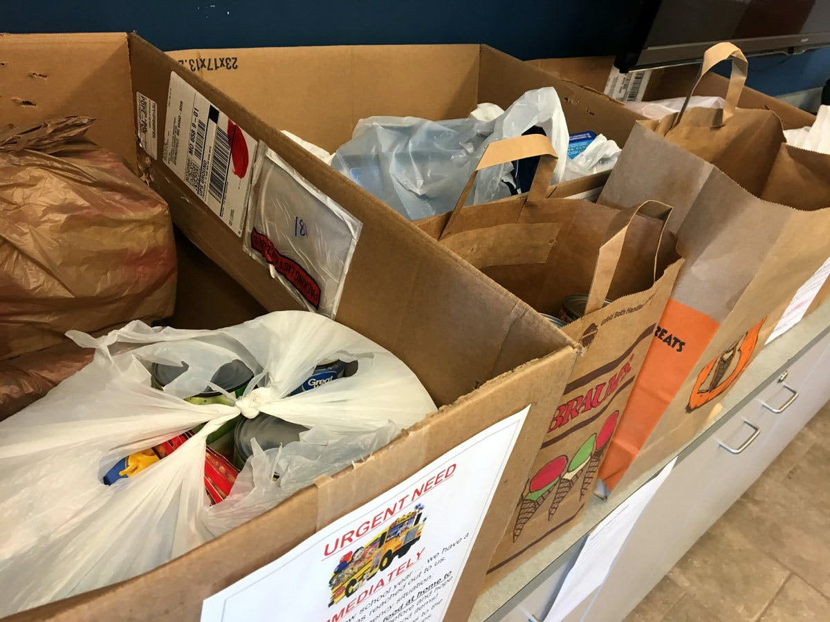 Robberson Food Donations