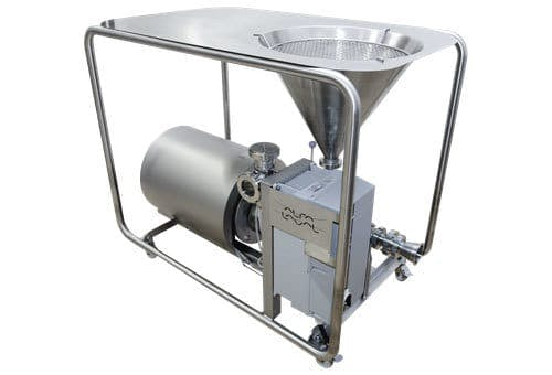 Ingredient Addition Hybrid Powder Mixer