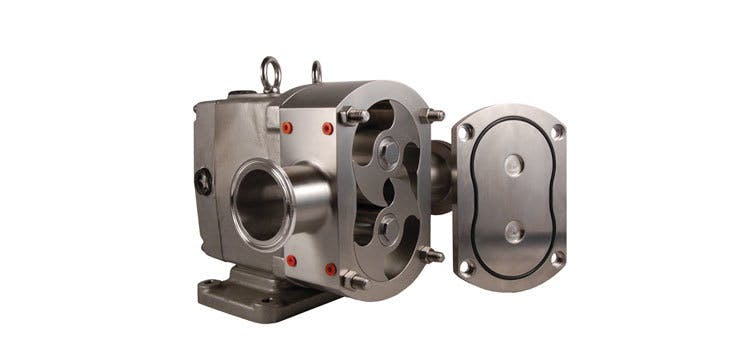 Rotary Lobe Pump - Ampco AL Series